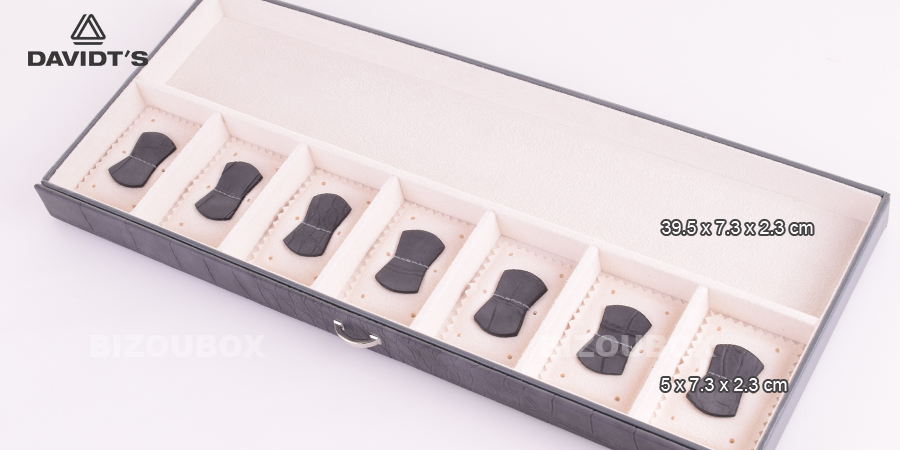 Boîte à bijoux Davidt's 357399.34 Gris