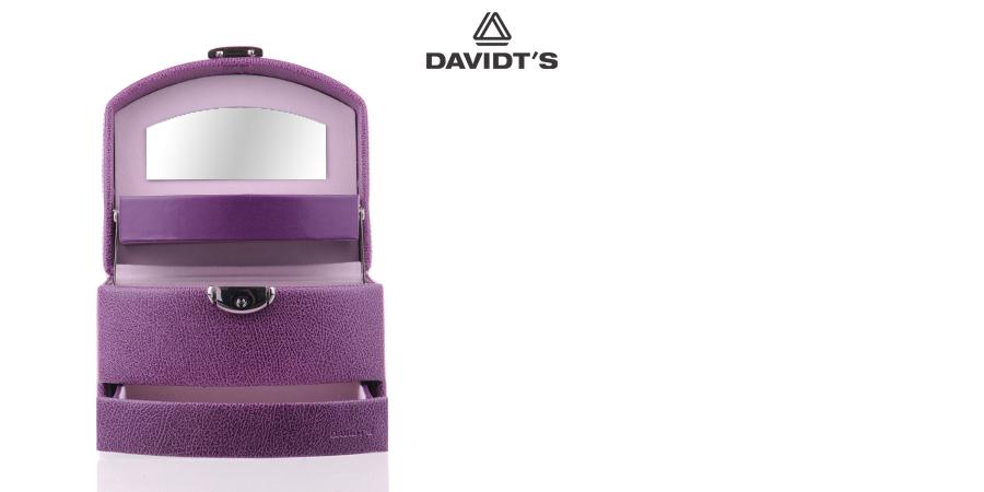 Boîte à bijoux Davidt's 367959 violet